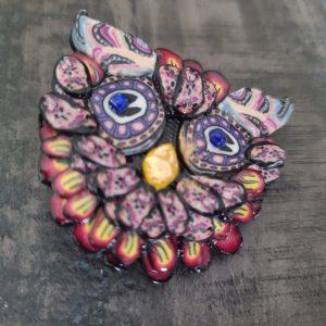 Owl brooch - 1