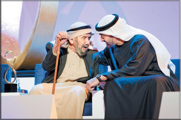 محمد بن زايد جائزة أبوظبي تخليد لإرث زايد ومبادئ خليفة في