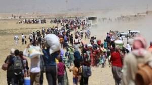 عدد النازحين في العراق وصل لنحو 4 ملايين نسمة