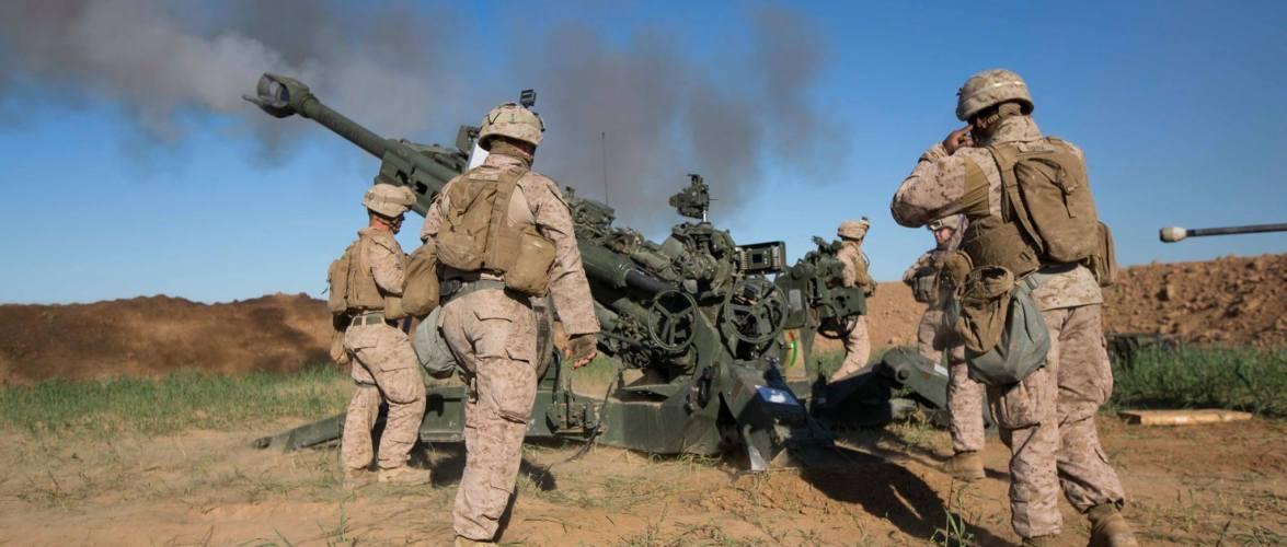 الجيش الامريكي في الموصل