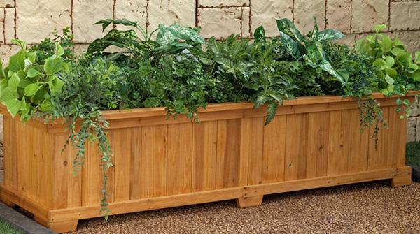 Cedar Garden Planters