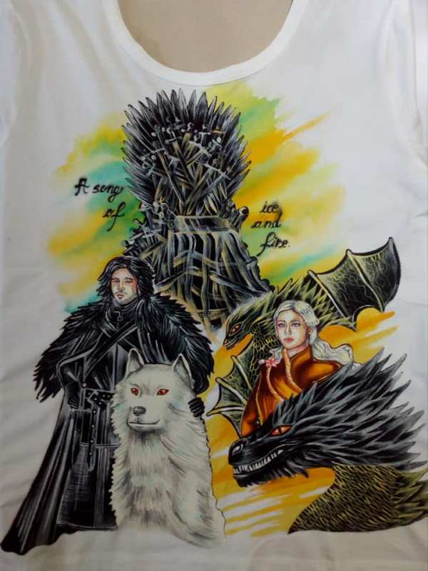 Tricou cu Personaje Games of Throne