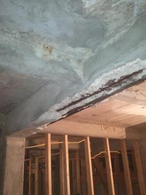 How to fix concrete beam