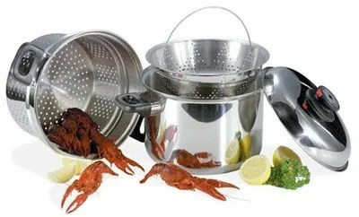 Seafood Steamer Stock Pot