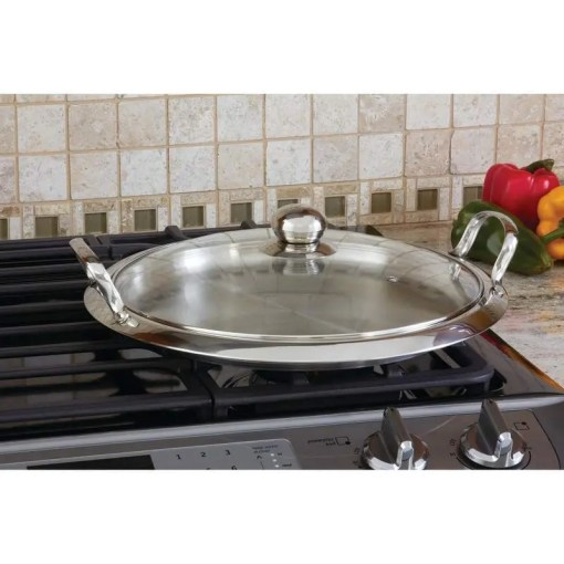 KTGRID2-griddle on stove