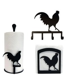 Rooster Kitchen Decor set