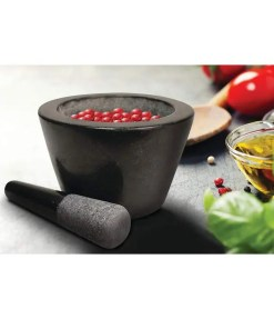 Deep Dish Granite Mortar