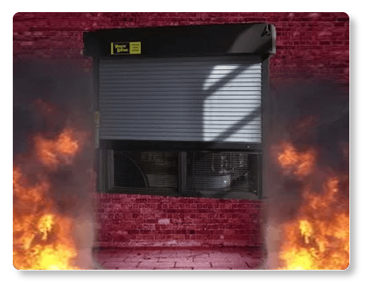 Fire Rated Counter Shutters Wayne Dalton Model 540 & 550
