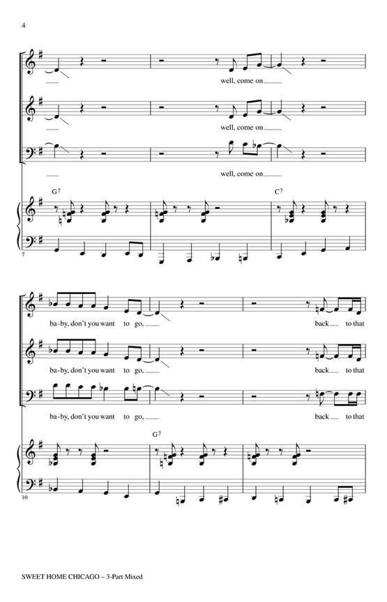 Sweet home chicago was … Sweet Home Chicago Robert Johnson Choir Cd