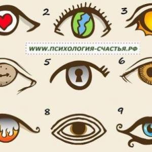 Психологический тест какая ты?(тест в картинках) – пройти ...