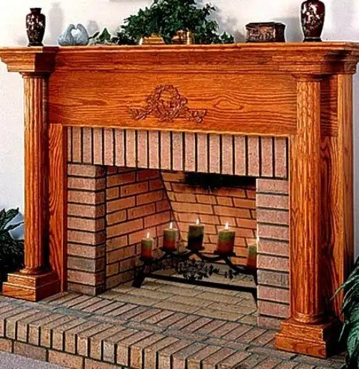 Fireplace-Pillar