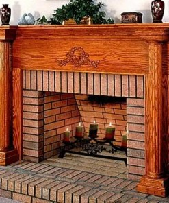 Fireplace-Pillar