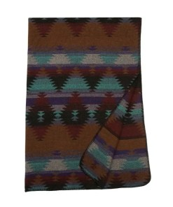painted desert throw blanket