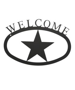 lone star welcome sign