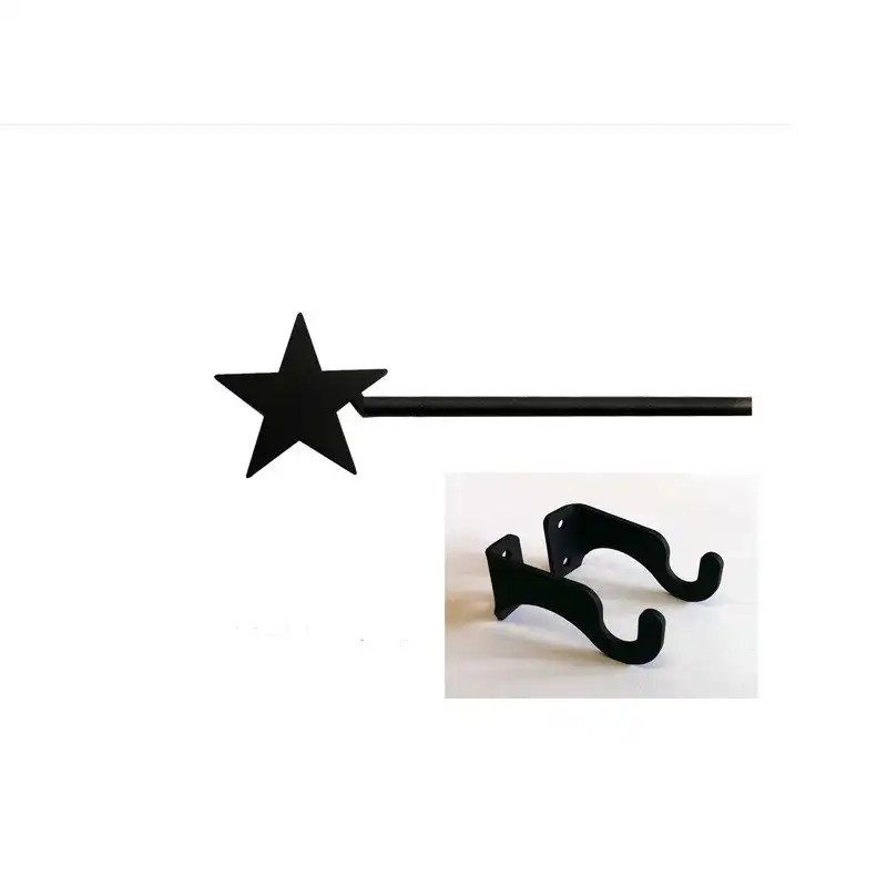 lone star short curtain rod