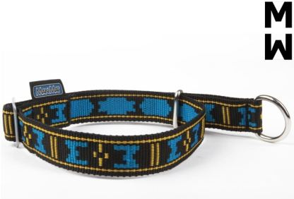 Collier Manmat Standard Semi-étrangleur bleu