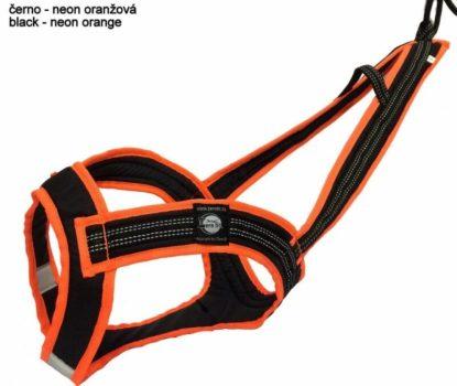 Harnais Zero DC Faster noir/orange fluo