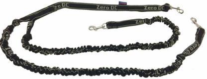 Ligne de traction 2 chiens Zero DC noire