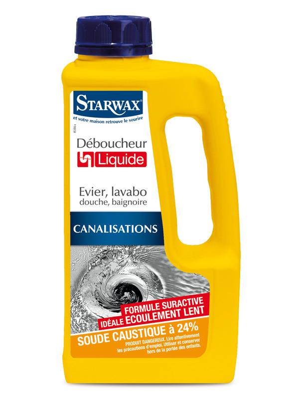 Flssiger Abflussreiniger 1L Starwax All4homech