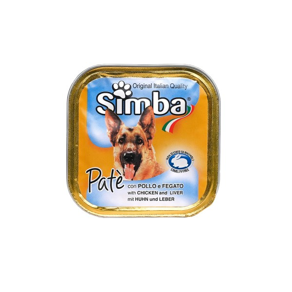 SIMBA PATE WITH CHICKEN AND LIVER(PACK OF 5)