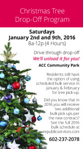 New Trash Collection Schedule in 2016 for Anthem Arizona