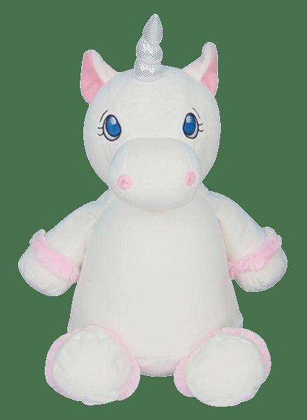 Cubbies White Unicorn Cubby Stuffie