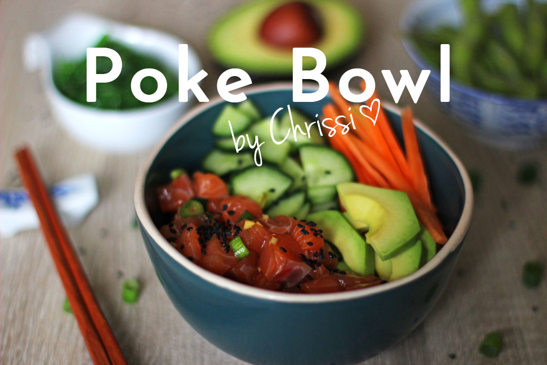 Poke Bowl mit Lachs und Edamame