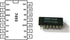 Build a 4Bit Binary Counter with 5x7 LED Matrix