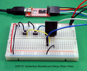Breadboard and Program an ESP01 Circuit with the Arduino IDE