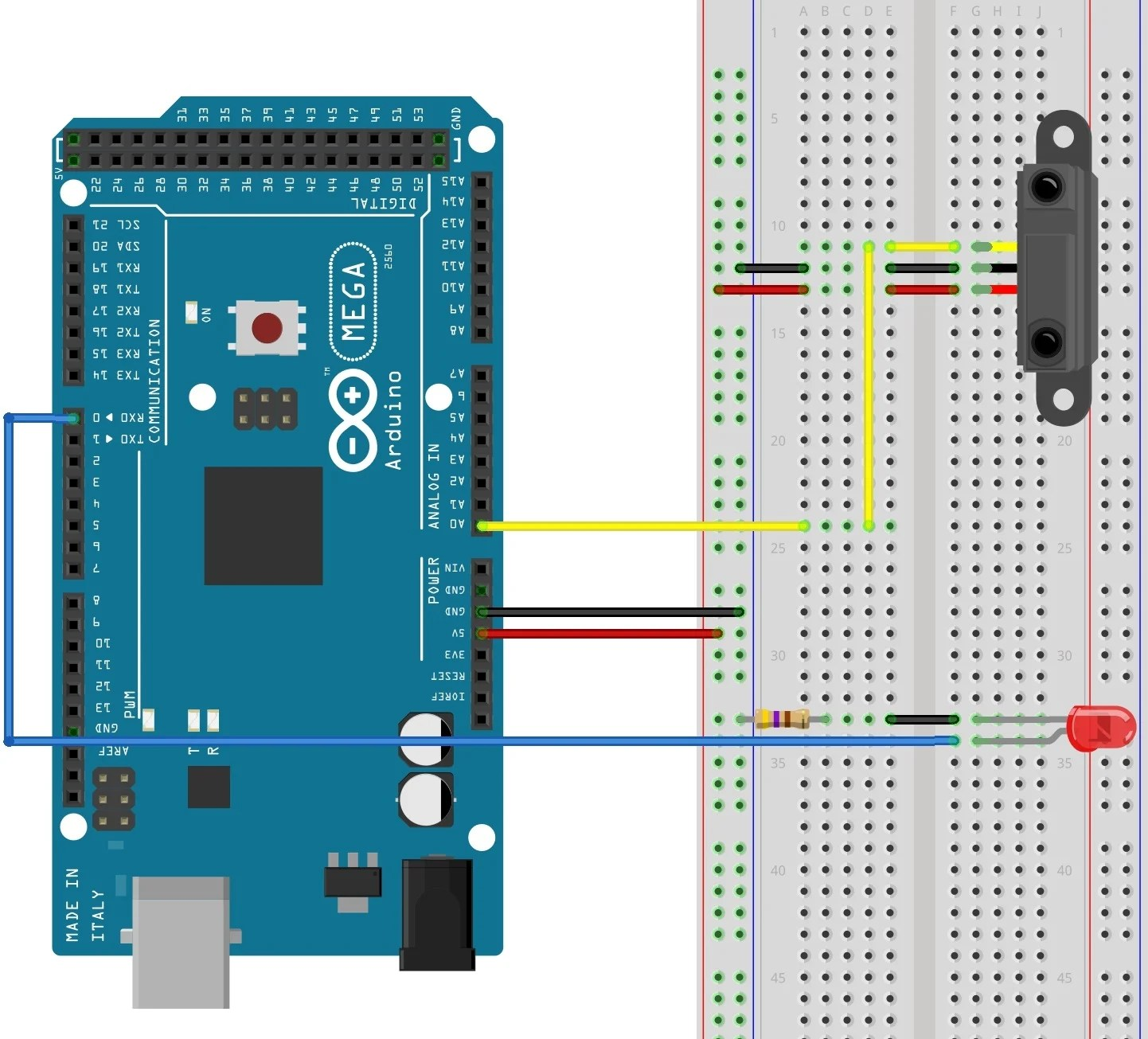 Reading Sensors with an Arduino