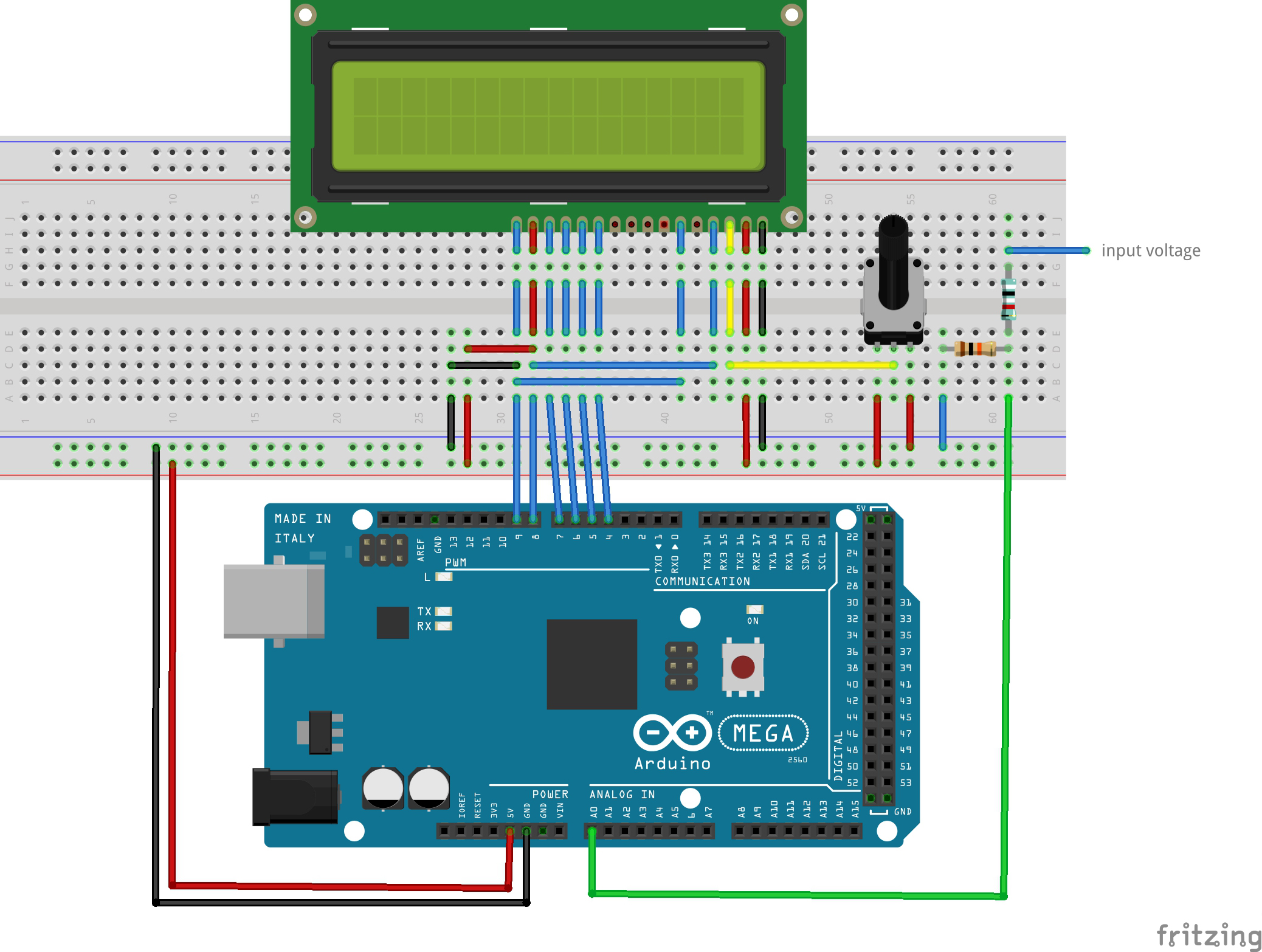 Make a Digital Voltmeter Using an Arduino