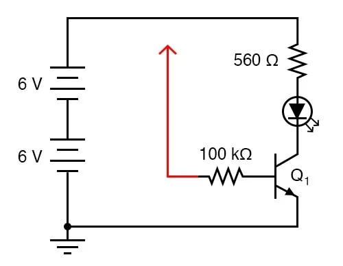 transistor as a switch  discrete semiconductor circuits