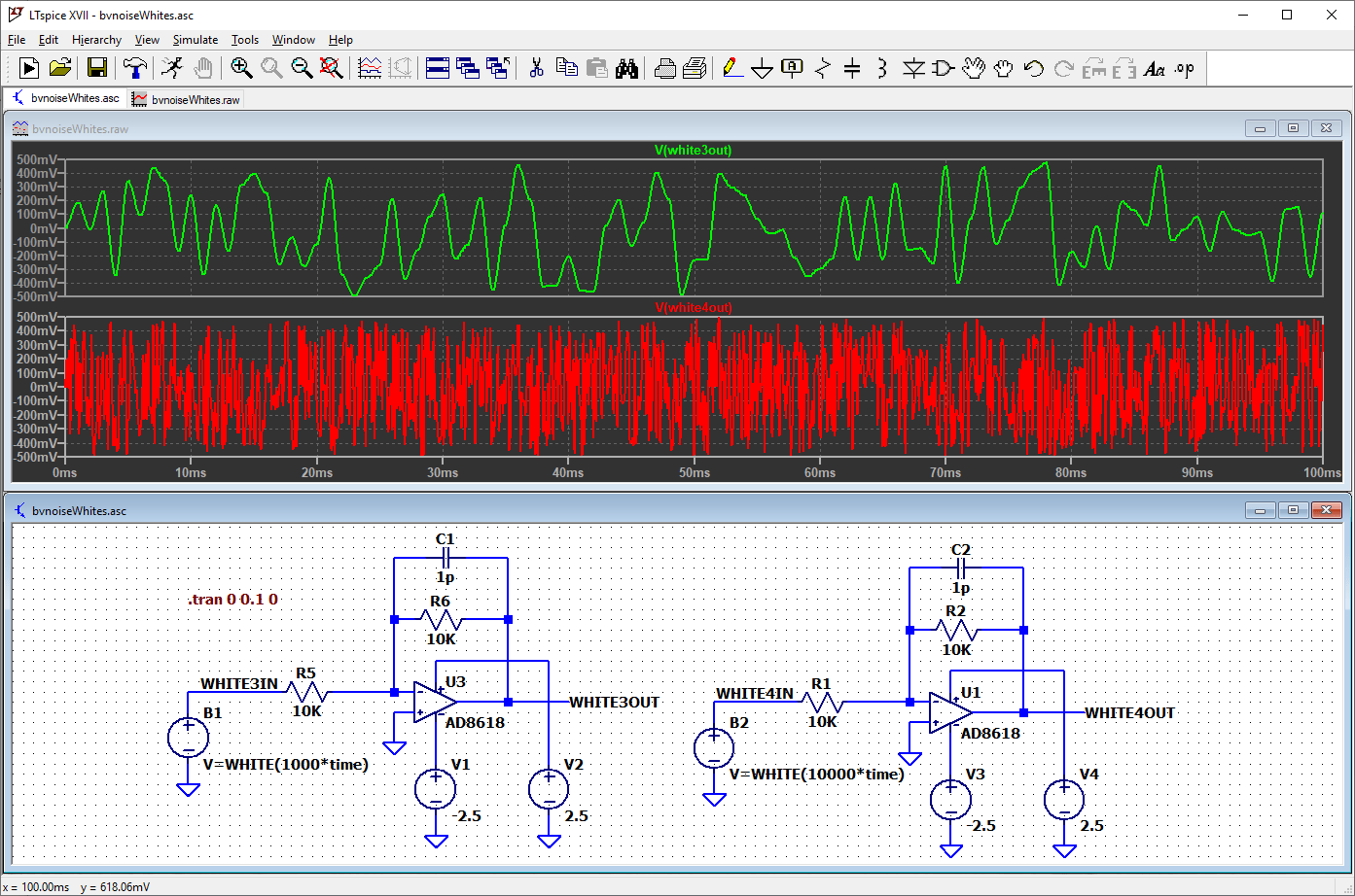 How To Perform Transient Analysis And Noise Source