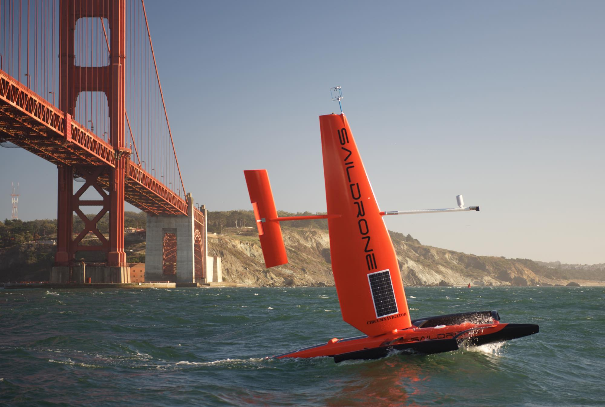 This Sailing Drone S Sensors Can Chart The Ocean Like Never Before