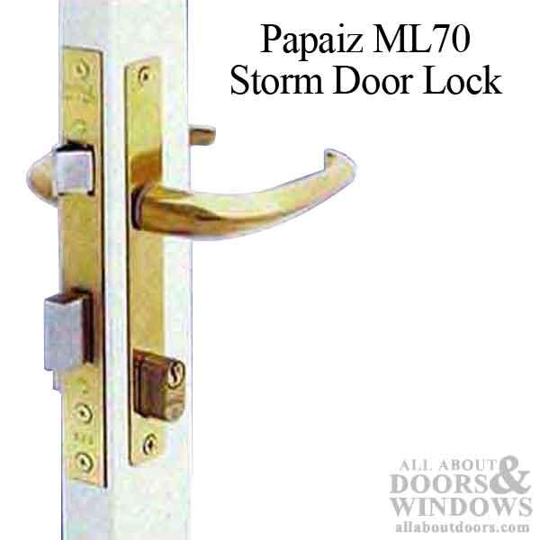Unavail Papaiz Ml70 Storm Door Lock Replacement Avail