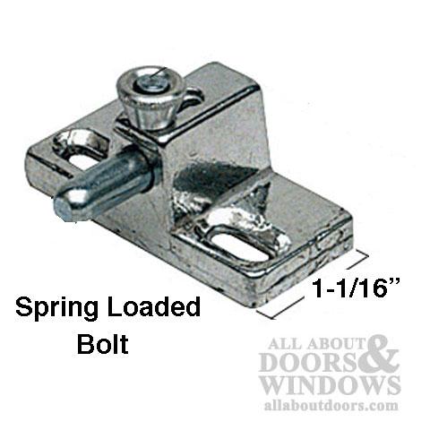 Slide Bolt Lock Security Bolt Lock All About Doors