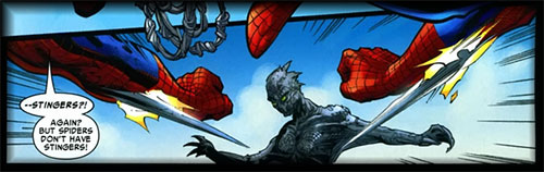 Spider-Man with Stingers (Claws)