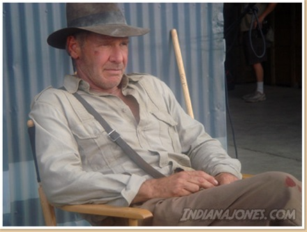 Harrison Ford as Indiana Jones (for the upcoming 4th film)