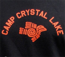 Camp Crystal Lake T-Shirt from Last Exit to Nowhere