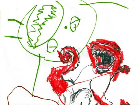 Hulk Devil Dinosaur Cover By Carter and Phillip