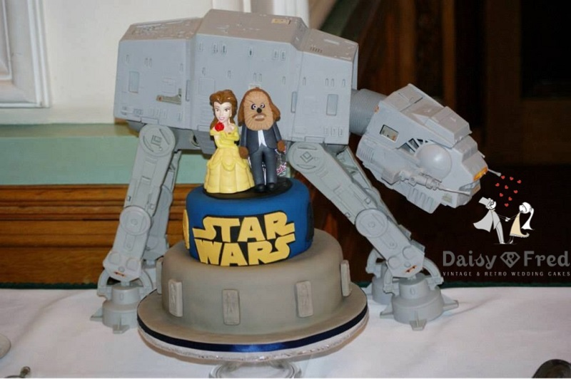 Superhero wedding cake Cute cakes from our Daisy and Fred Alternative wedding cakes The
