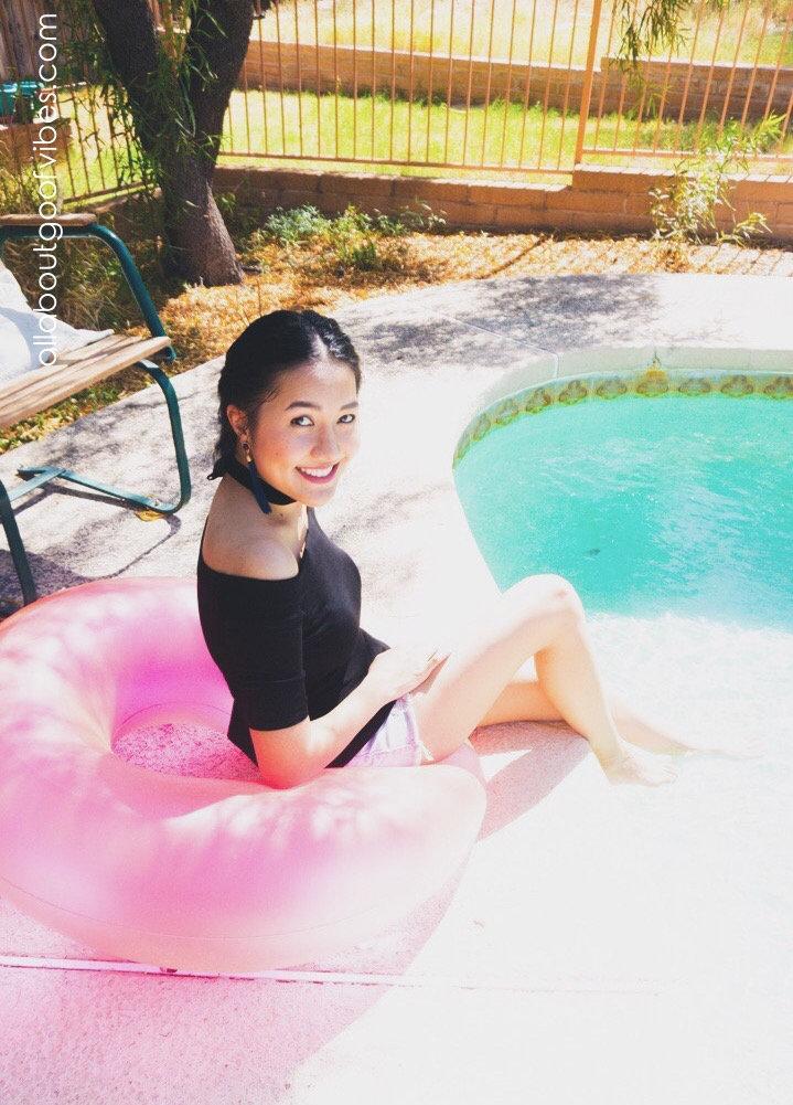 Tassel Earrings & Off the Shoulder | Summer Chic #OOTD