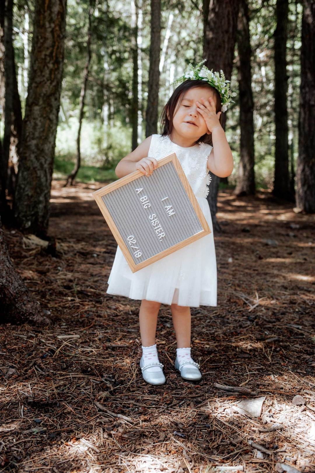 Pregnancy Announcement Baby Number 2_TheVibesCloset_Molly Larsen's Daughter_I'm a big sister_Style Blogger