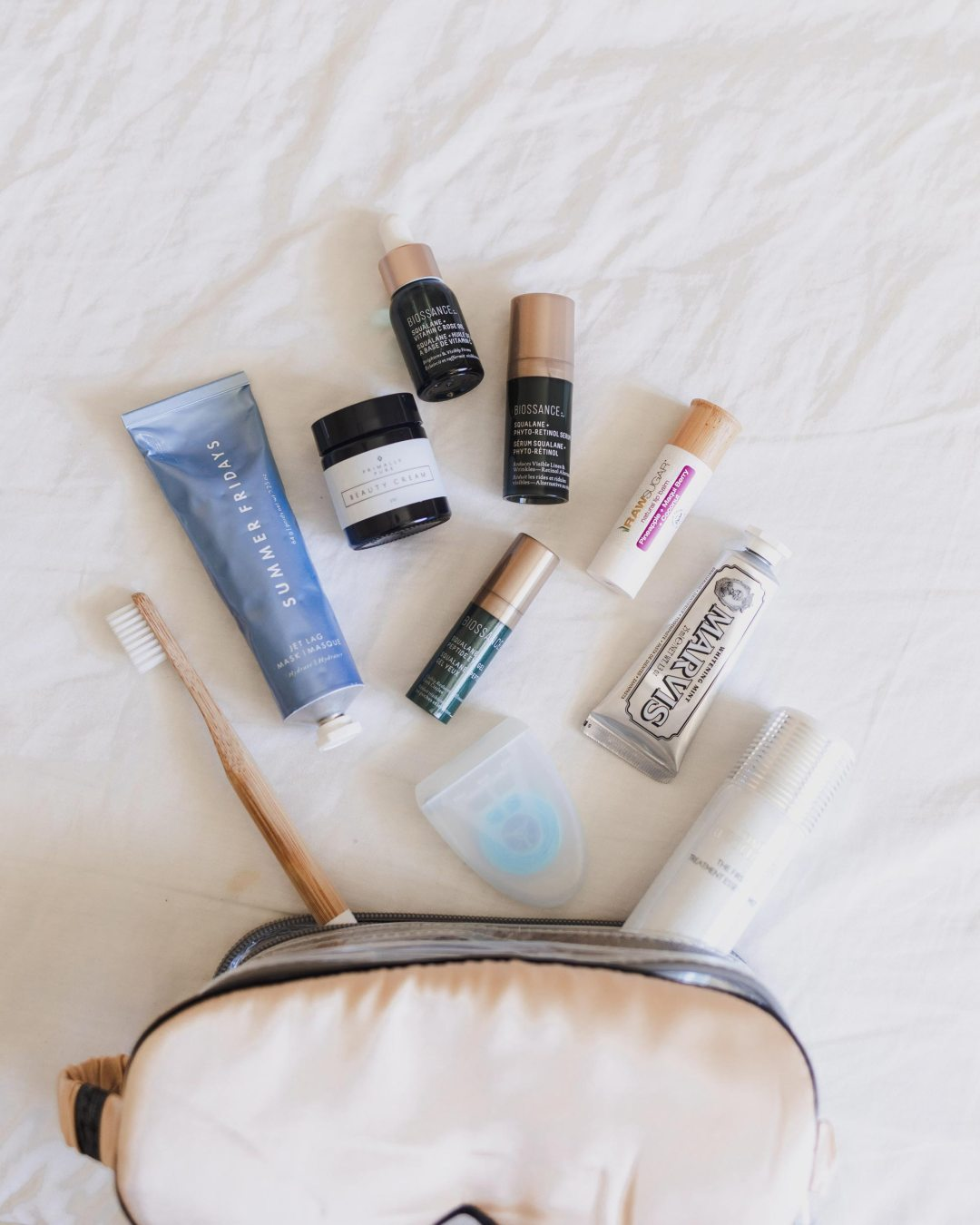 Holiday Trip   What's in my toiletry bag?