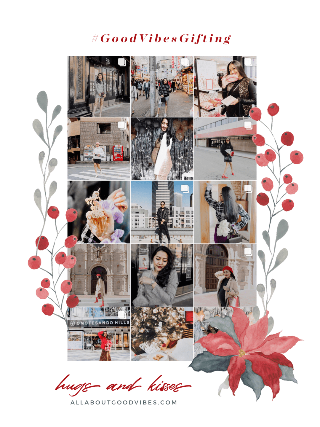 Happy Holidays | #GOODVIBESGIFTING Winner Announcement _allaboutgoodvibes.com IG @thevibescloset