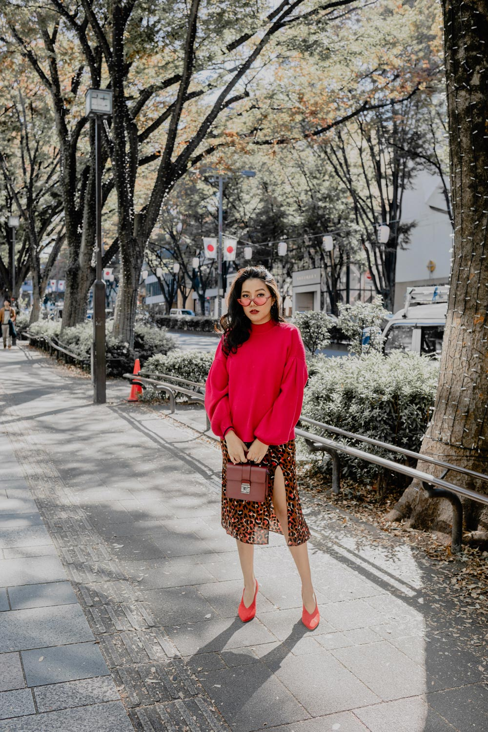 Last Minute Holiday Outfit | Red Leopard #GoodVibesGifting Day 1