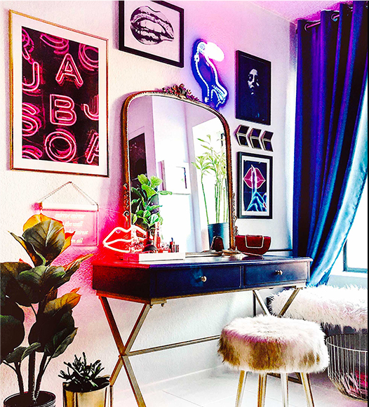 Modern Eclectic Vanity
