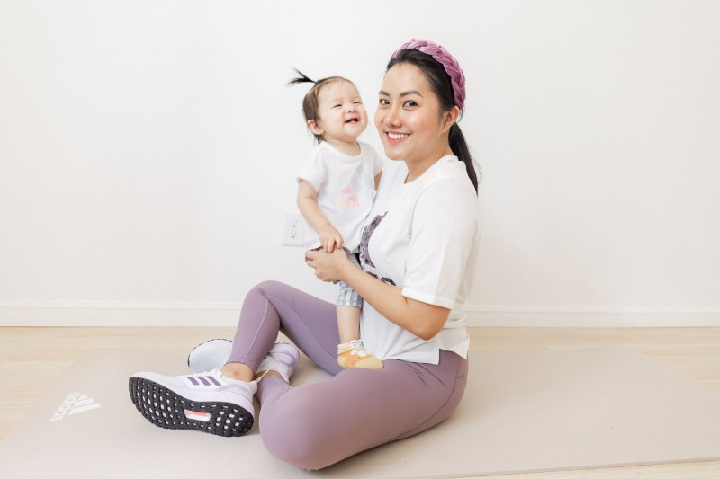 Mommy, Baby at Home Workouts with adidas