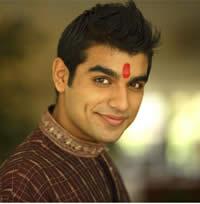 Hindu man with tilak