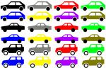 Array of cars